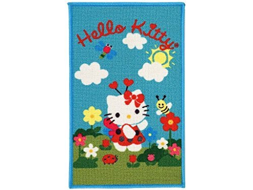 IT-11371-3-Rug Carpet for Kid Girl's Bedroom Hello Kitty (120x80 CM) - (Galleria Farah1970) #