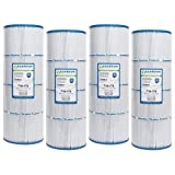 4 Guardian Pool Spa Filter Replaces C-7483 Hayward C3025 CX580XRE PA81 FC-1225 PA81-4, C-3020, C-570