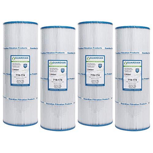 Guardian Filtration - 4 Pack Pool Filter Replacement for Pleatco PA81, Unicel C-7483, Filbur FC-1225, Hayward SwimClear C-3020, C-570, C3025, CX580XRE | Value Savings 4 Pack Bundle | Model 719-174-04