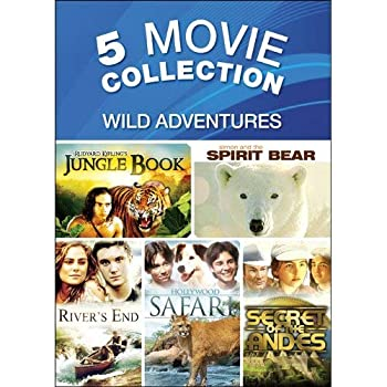 DVD 5-Movie Adventure Pack V.4 Book