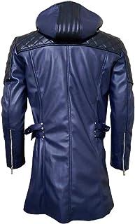 DMC 5 Ner-o Faux Leather Jacket