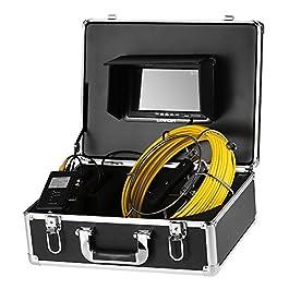Lixada Echos sondeurs et détecteurs Caméra d'inspection Endoscope Industriel imperméable Endoscope Caméra Serpent 7…