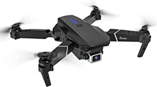 E525 Foldable WiFi FPV Drone with 1080P HD Camera Live Video for Beginners, RC Quadcopter, Follow Me, Gesture Control, Circle Fly, Auto Hover & 5G WiFi Transmission (Black)