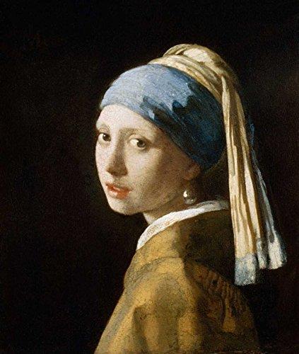 STAMPA-SU-TELA-INTELAIATA.Vermeer-Johannes-Cm_73_X_61-La-ragazza-con-l'orecchino-di-perla-donne-ritratti-ritratti-donne-persone,-Quadro-su-tela-fine-art-Figurativo,-Canvas-intelaiato-100%cotone-380gr