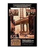 Film Es war einmal in Amerika Poster Wandkunst Wanddekor