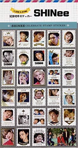 SHINee (シャイニー) 記念 切手 シール ステッカー (Celebrate Stamp Sticker) [29ピース] グッズ
