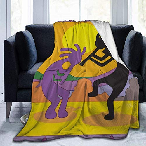 Dance Koppelli Sun Art Picture Full Fleece Throw Cloak Wearable Blanket Flannel Fluffy Comforter Quilt Nursery Bedroom Bedding Decor Ornaments Soft Cozy 50x40in