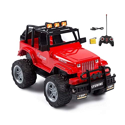 Best Bargain Woote Kids RC Climbing Car Toy Gift Metal Frame Truck Vehicle High-Speed Remote Control...