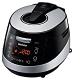 Cuckoo CRP-HS0657F 6 Cup Pressure Rice Cooker, 110V, Black