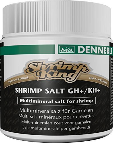 Dennerle 6134 Shrimp King Shrimp Salt GH/KH+, 200 g
