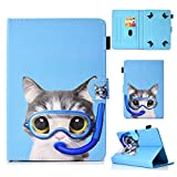 HereMore Étui Tablette de 7', Coque Housse de Protection pour iPad Mini, Samsung Galaxy Tab A 7'/...
