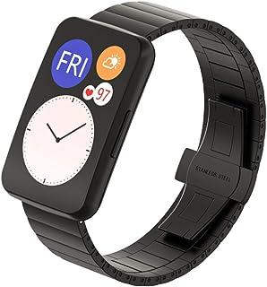 Viesky Bracelet de montre en acier inoxydable pour Huawei Watch Fit Watch