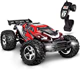 FAO Schwarz 17.5MPH RC Hobby Racer Monster Truck for Kids – Ultra-Fast Remote Controlled Off-Road Race Car, Aerodynamic Design & Shock-Absorbing Wheels Idea for Boys & Adults