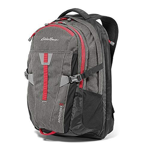 Eddie Bauer Unisex-Adult Adventurer 30L Pack, Cinder Htr Regular ONE SIZE