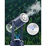 Tiamu Diffusore di Aromi Umidificatore con Ionizzatore Lampada Rotante Atomizzatore Diffusore Elettrico per Camera da Letto Bambini Ufficio