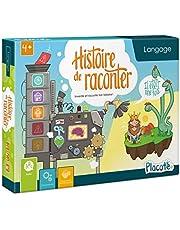 Placote- Histoire de Raconter-Jeu éducatif-Langage-4 à 9 Ans, PLA-46