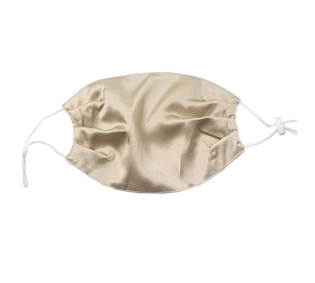 やりがいのあるクモ一時的綺麗な、少女と女性のためのエレガントな通気性の柔らかいシルクの口のマスク 耐久性(2019 DSCD)