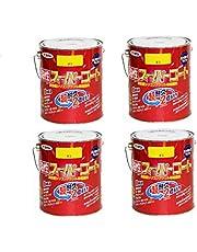 アサヒペン 油性スーパーコート 1.6L 黄色 4缶セット