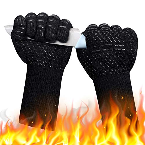 DUTOUE 1472℉Extreme Heat Resistant BBQ Gloves
