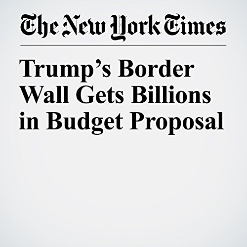 Trump's Border Wall Gets Billions in Budget Proposal copertina
