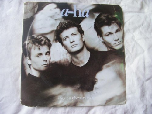 A-HA Stay on These Roads UK 7' 45
