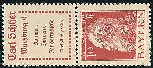 Goldhahn Bayern S 5.6 postfrisch  Briefmarken für Sammler