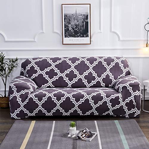 Fundas de sofá con Estampado de Flores para Sala de Estar Funda elástica elástica Fundas de sofá seccionales de Esquina A18 3 plazas