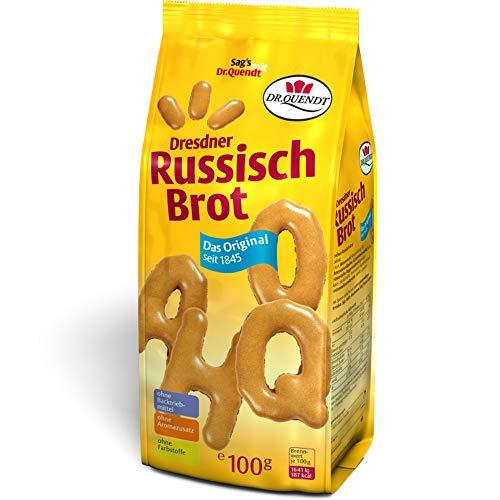 Dr. Quendt Russisch Brot - nostalgische DDR Kultprodukte - DDR Artikel