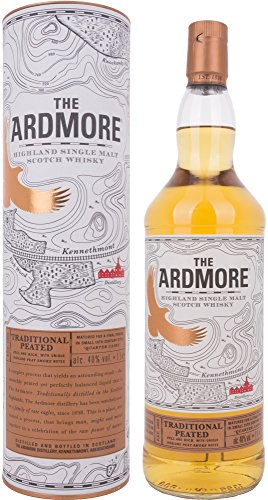 The Ardmore Traditional Peated Highland Single Malt Scotch Whisky - 1000 ml