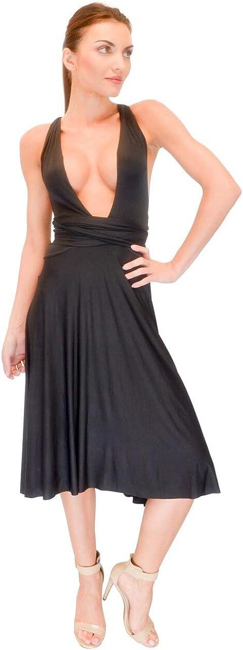 Vivian's Fashions Dress - Twist Wrap, 8 Ways to Wear (Misses and Misses Plus)