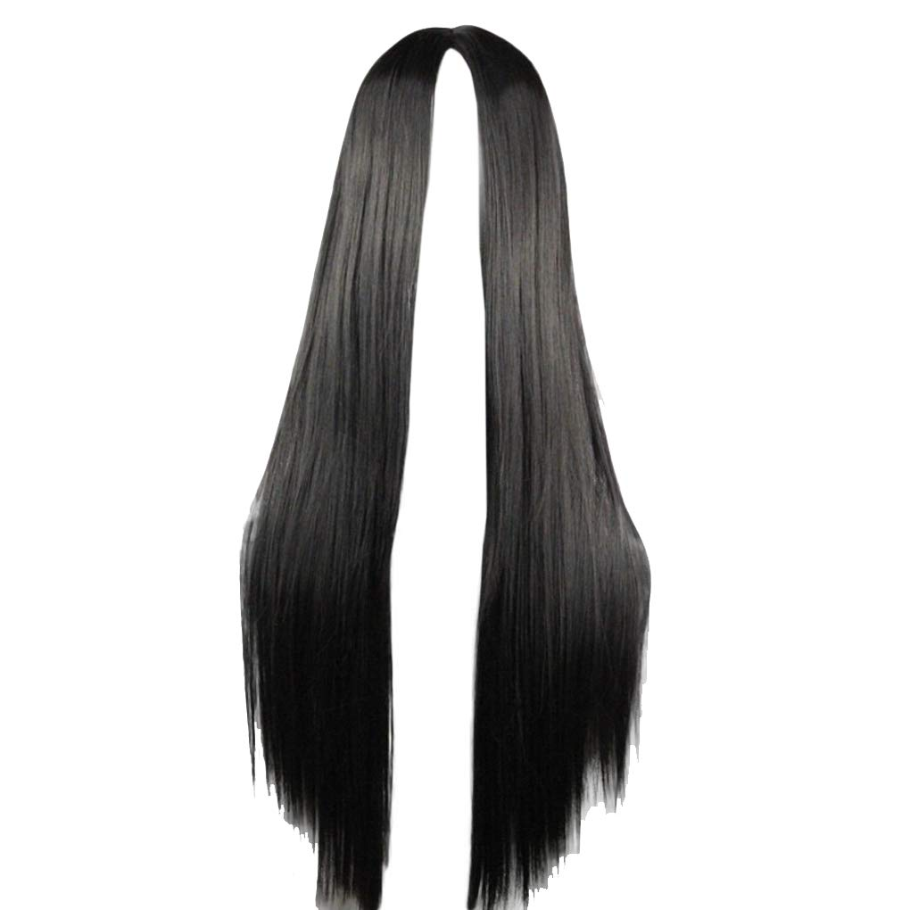 75cm Long Straight Limited time for free shipping Hair Black No Bangs Pa Heat Resistant Limited time cheap sale Cosplay
