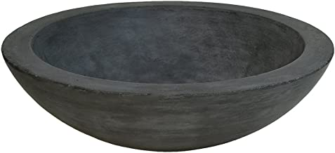 Native Trails NSL1705-S Morro Native Stone Vessel Bathroom Sink, Slate