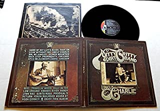 Nitty Gritty Dirt Band UNCLE CHARLIE AND HIS DOG TEDDY - Liberty Records 1970 - USED Vinyl LP Record - 1970 Pressing - Livin' Without You - Mr. Bojangles - Chicken Reel - Santa Rosa