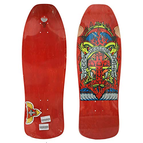Dogtown Scott Oster Reissue Old Skool Cruiser Skateboard red 10.125 Inch