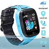 GUANLV Waterproof Smartwatch GPS Digital SOS Call Remote Game Camera Two-Way Call Touch