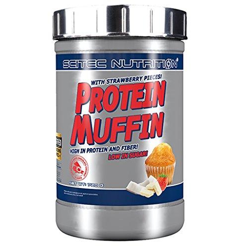 Scitec Nutrition Proteine Muffin Dose, Fragola-Cioccolato Bianco - 720 g