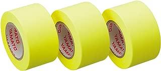 ヤマト 付箋 ロールテープ 詰替え 3巻入 25mm×10m WR-25H-LE3 レモン