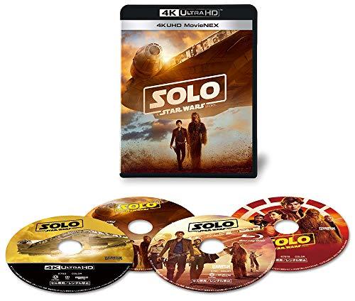 ハン・ソロ/スター・ウォーズ・ストーリー 4K UHD MovieNEX(4枚組) [4K ULTRA HD+3D+Blu-ray+デジタルコピー+MovieNEXワールド]