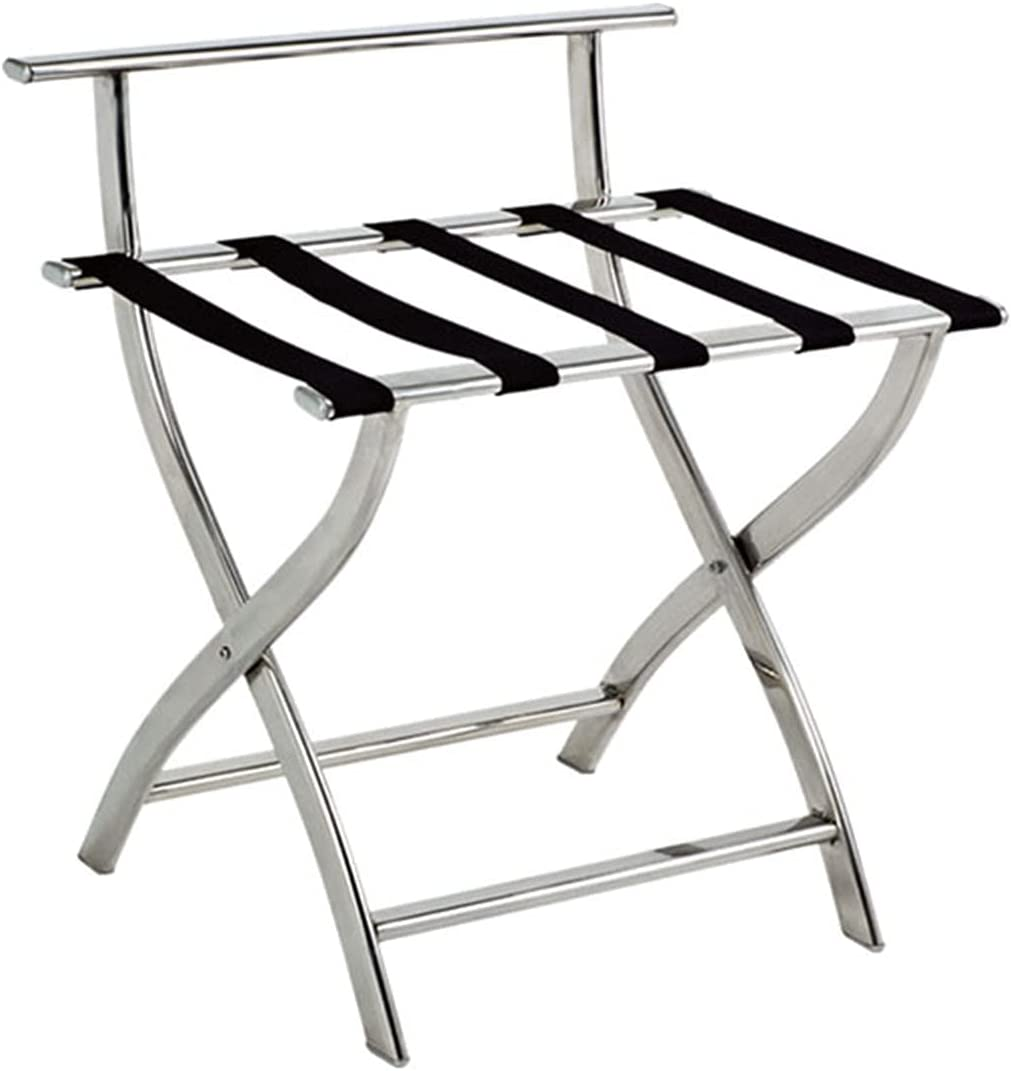 WERTY Hotel Luggage Rack Stand Max 43% OFF Foldable Suitcase low-pricing