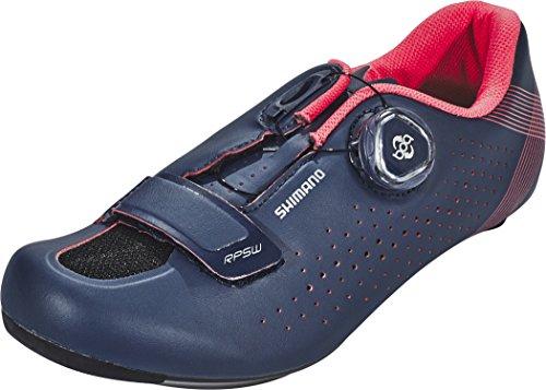 Shimano SH RD RP501, Zapatillas de Ciclismo de Carretera Mujer, Azul (Navy 000), 44 EU