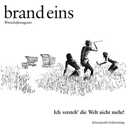 brand eins audio: Entfremdung audiobook cover art