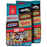 Snickers, Twix, 3 Musketeers, Milky Way & Milky Way Midnight Minis Size Chocolate Candy Ba...