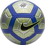 Nike Neymar Strike Ballon de Football Argenté/Bleu/Jaune 5