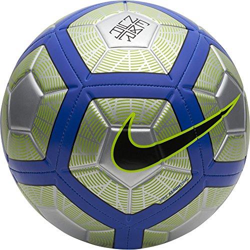 Nike Neymar Strike Fußball Ball, Silber/blau/gelb, 5