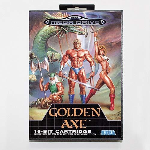 Samrad Golden Axe Games Cartridge 16 Bit MD Games Card With Retail Box For Sega Mega Drive For Genesis