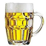Arcoroc Confezione 3 Calici Birra con Manico 56 cl Linea Britannia Mug Calice Birra Classico Boccale Giarra