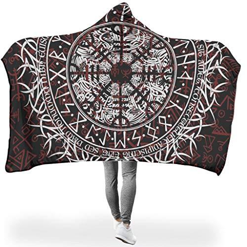 Twelve Constellations - Cappuccio con cappuccio, disponibile in due misure, 150 x 200 cm, colore: Bianco
