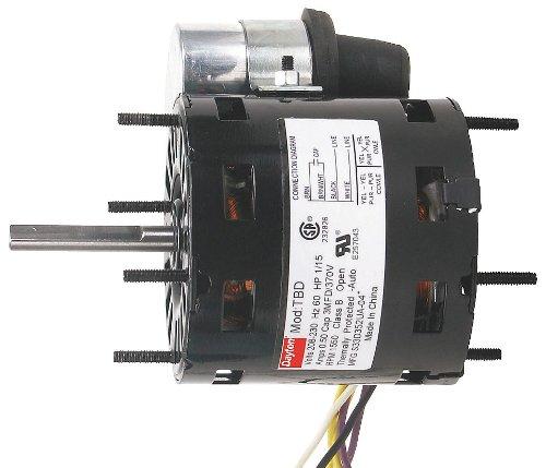 Dayton 3RCX9 1/15 HP HVAC Motor, 1550 rpm