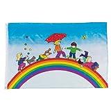 Goki Flagge Spielende Kinder