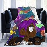 VJSDIUD Lil Uzi Vert Blankets Super Cozy Nap Blanket Anti Pilling Ultra Soft Cozy Warm Throw Ligera Manta Manta de Microfibra Adecuado para sofás Dormitorios Picnics Todas Las Estaciones (50 'x 40')